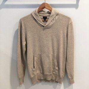 J Crew Oatmeal Sweater Size M
